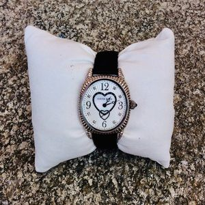 Judith Ripka sterling silver watch